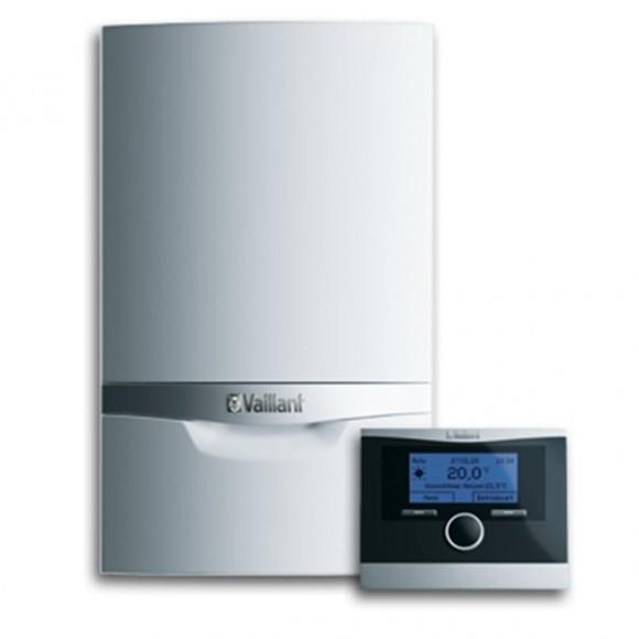 Set caldera de condensación ecoTEC plus más termostato modulante inalámbrico calorMATIC 370f