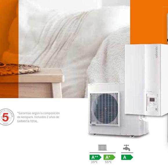 imagen pack bomba de calor Calefaccion y ACS  Thermor Aeropack Premium Extensa_gesproclima_leon